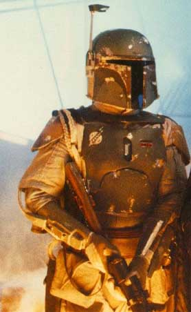 when looking for images of boba fett on google, one will invariably find ten thousand pictures of geeks all dressed up like boba fett