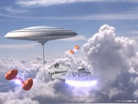 cloud city, just like I pictured it!